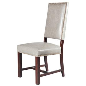 Belfort Leather Weston Dining Side Chair
