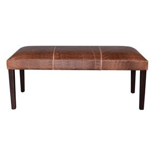 Belfort Leather Weston Dining Bench