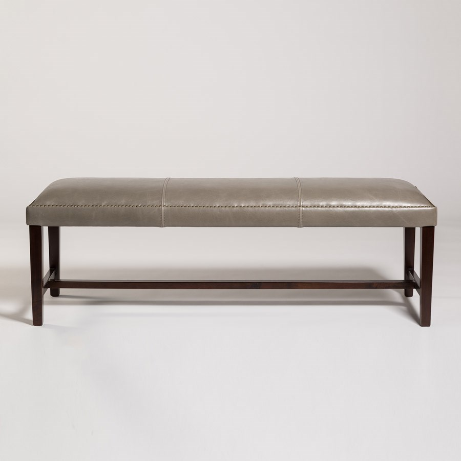 Belfort Leather Weston Dining Bench - Item Number: AT573-LF