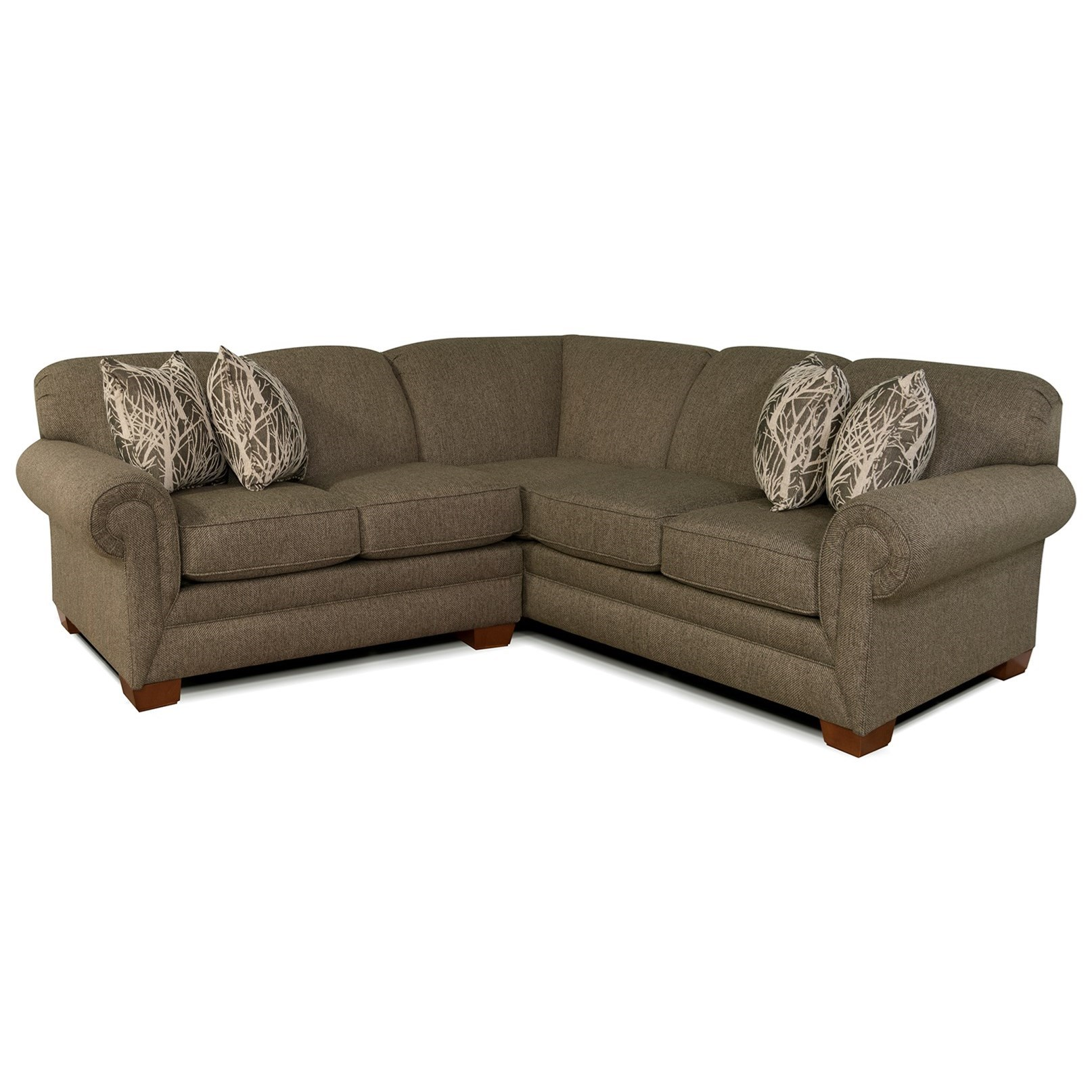 Small Sectional Sofa for 3-4 People