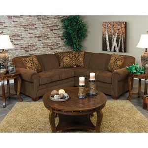Alexvale V140 Small Sectional Sofa for 3-4 People
