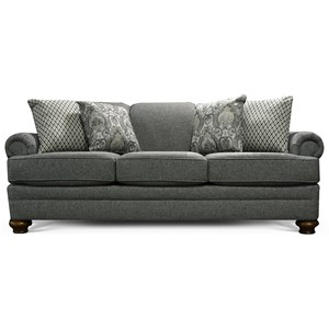 Alexvale V5Q0 Sofa with Traditional Style