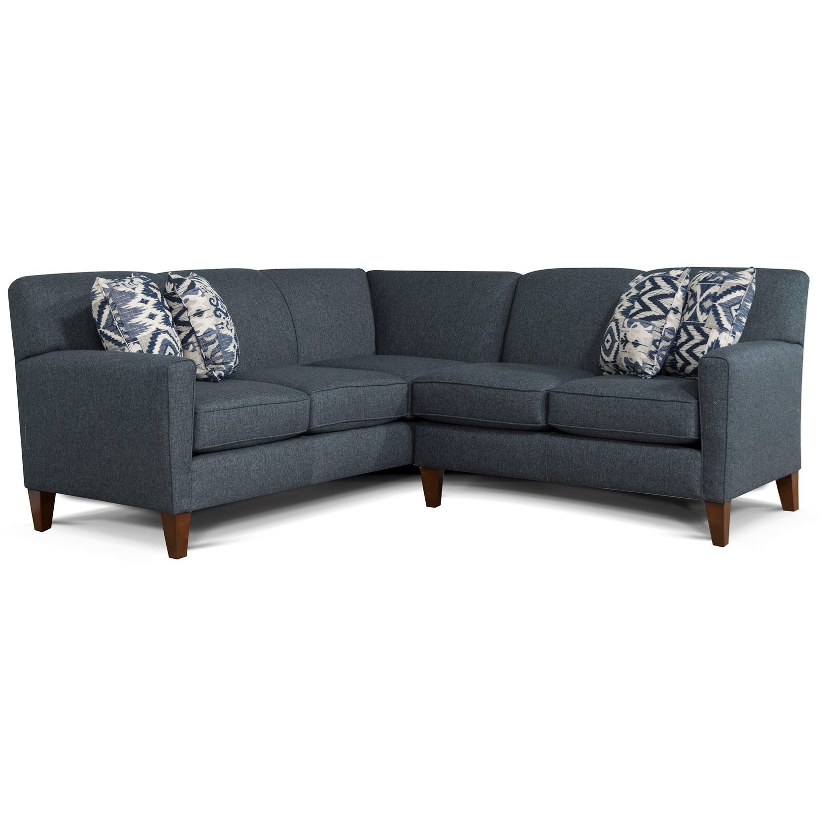 Astounding Alexvale V620 Contemporary 2 Piece Sectional Stegers Squirreltailoven Fun Painted Chair Ideas Images Squirreltailovenorg
