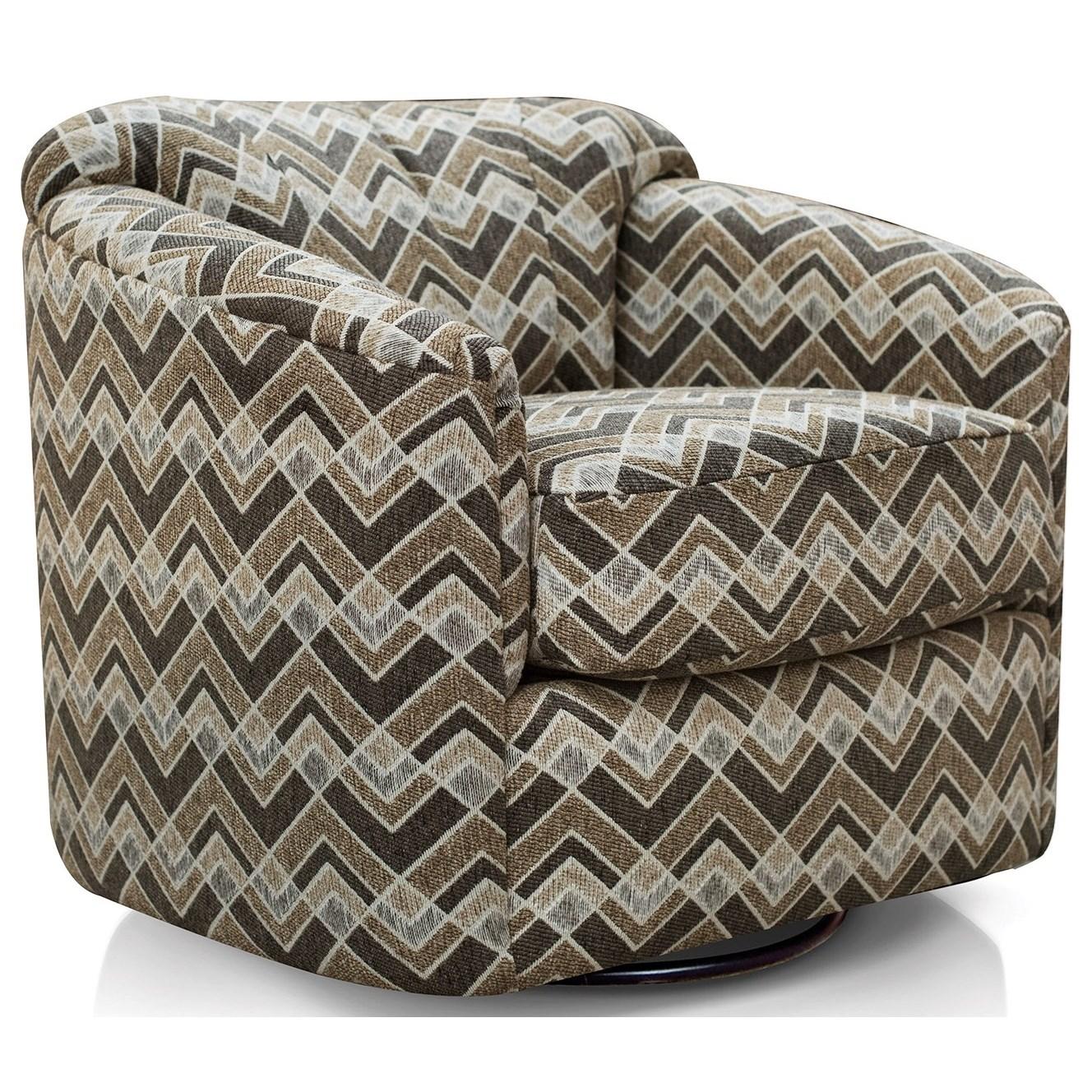 Alexvale V995 V995 71 Contemporary Swivel Glider Chair