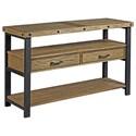 Alexvale Workbench Sofa Table - Item Number: H790925