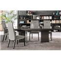 Alf Italia Athena 5 Piece Dining Set - Item Number: PJAT0615/KJAT620