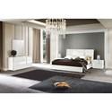 Alf Italia Bianca Queen Bedroom Group - Item Number: KJBB Q Bedroom Group 1