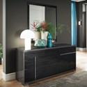 Alf Italia Minerva Dresser and Mirror Set - Item Number: KJMV120KG+KJMV140KG