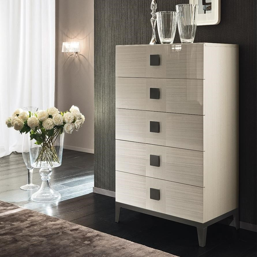 Mont Blanc 5 Drawer Chest by Alf Italia at Stoney Creek Furniture