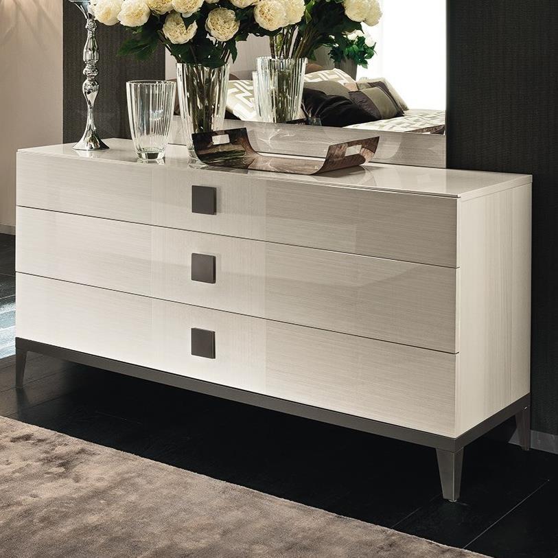 Alf Italia Mont Blanc 3 Drawer Dresser - Item Number: KJMB120KT