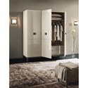 Alf Italia Mont Blanc 3 Door Swinging Wardrobe