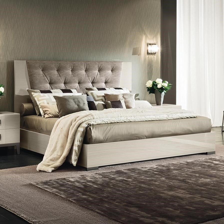 Mont Blanc King Upholstered Bed by Alf Italia at Stoney Creek Furniture