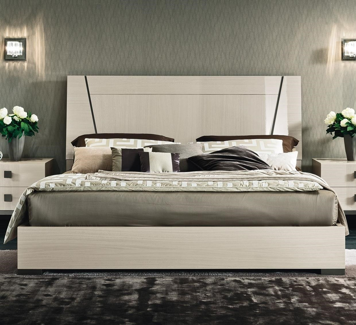 Mont Blanc King Low Profile Bed by Alf Italia at Stoney Creek Furniture