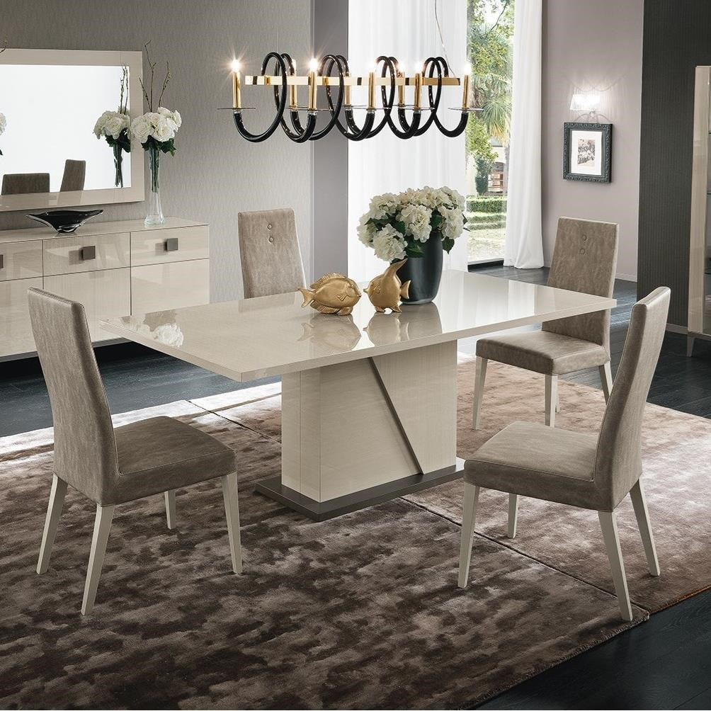 Mont Blanc 5 Piece Table & Side Chair Set by Alf Italia at Stoney Creek Furniture