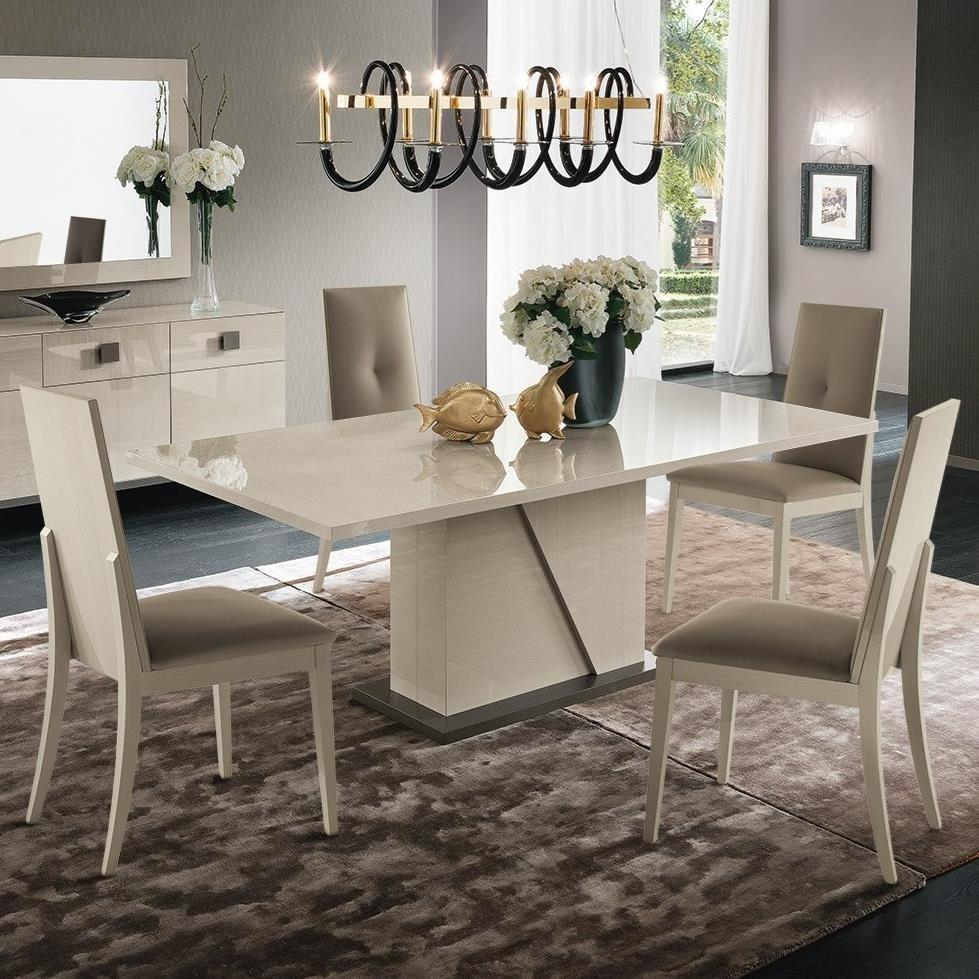 5 Piece Table & Montechiaro Chair Set