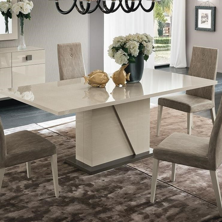 Mont Blanc Pedestal Dining Table by Alf Italia at Stoney Creek Furniture