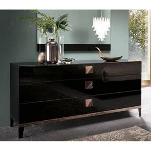 Alf Italia Mont Noir 3 Drawer Dresser