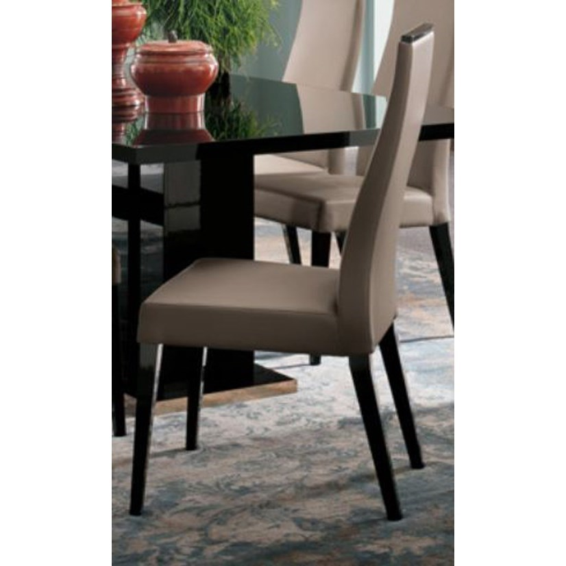 Mont Noir Dining Side Chair by Alf Italia at Corner Furniture