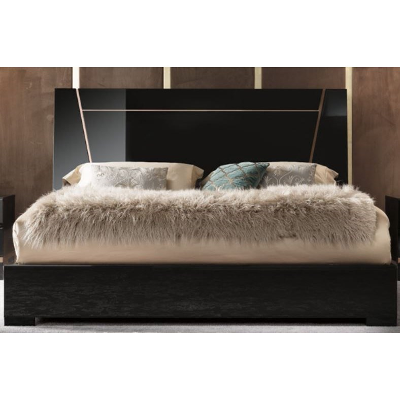 Alf Italia Mont Noir Cal King Bed - Item Number: PJMT0185NE