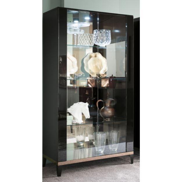 Alf Italia Mont Noir Curio Cabinet - Item Number: PJMT0600