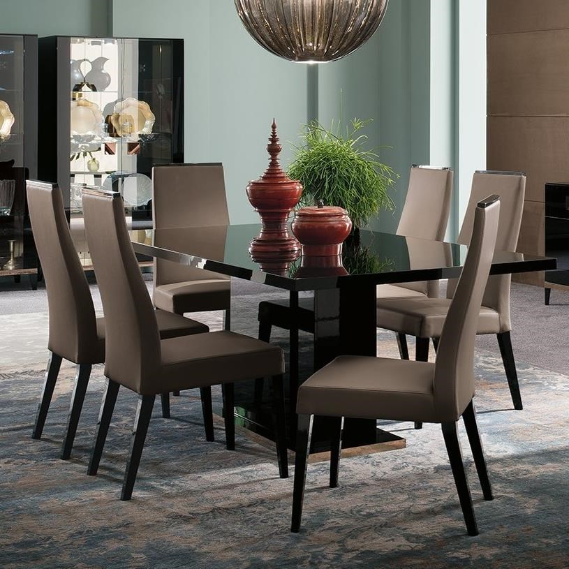 Mont Noir Table and Chair Set by Alf Italia at Corner Furniture