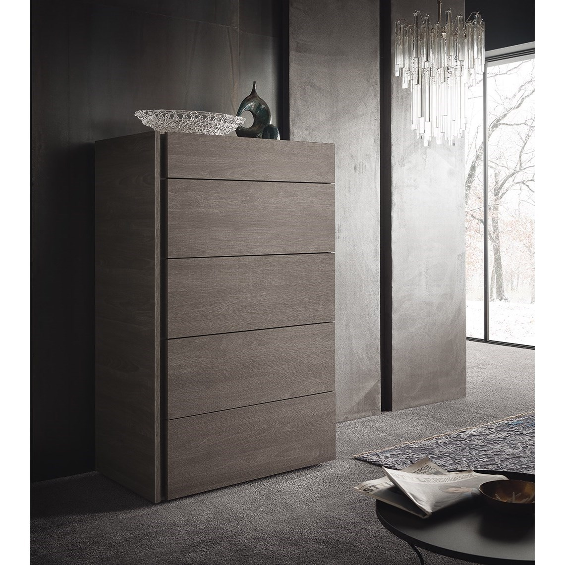 Alf Italia Nizza 5 Drawer Chest - Item Number: KJNI115