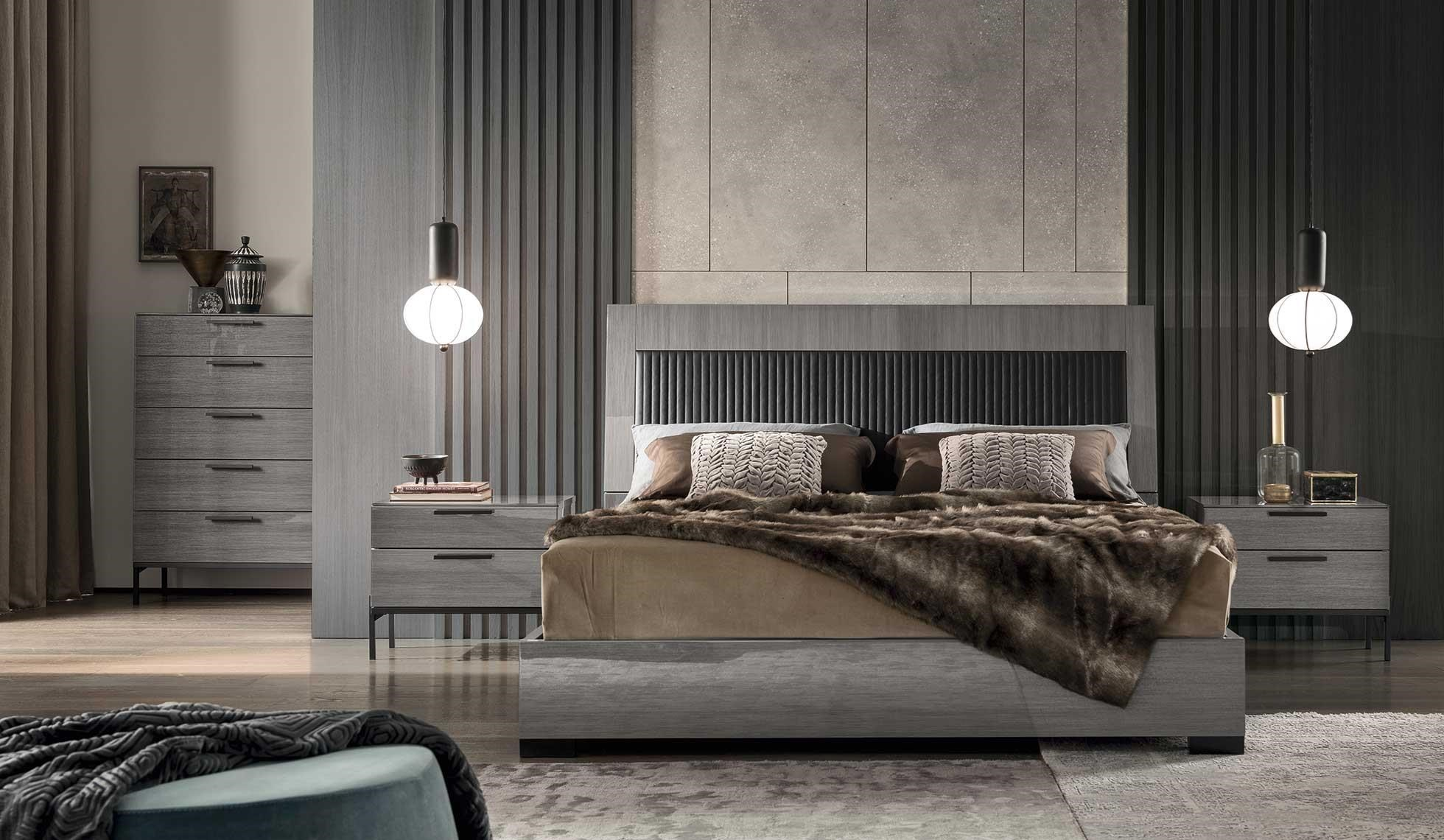 Novecento Queen Bed by Alf Italia at HomeWorld Furniture