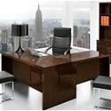 Alf Italia Pisa L-Shaped Desk - Item Number: PJPI0807CN