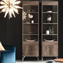 Alf Italia Vega Vega Right Bookcase - Item Number: KJVG630