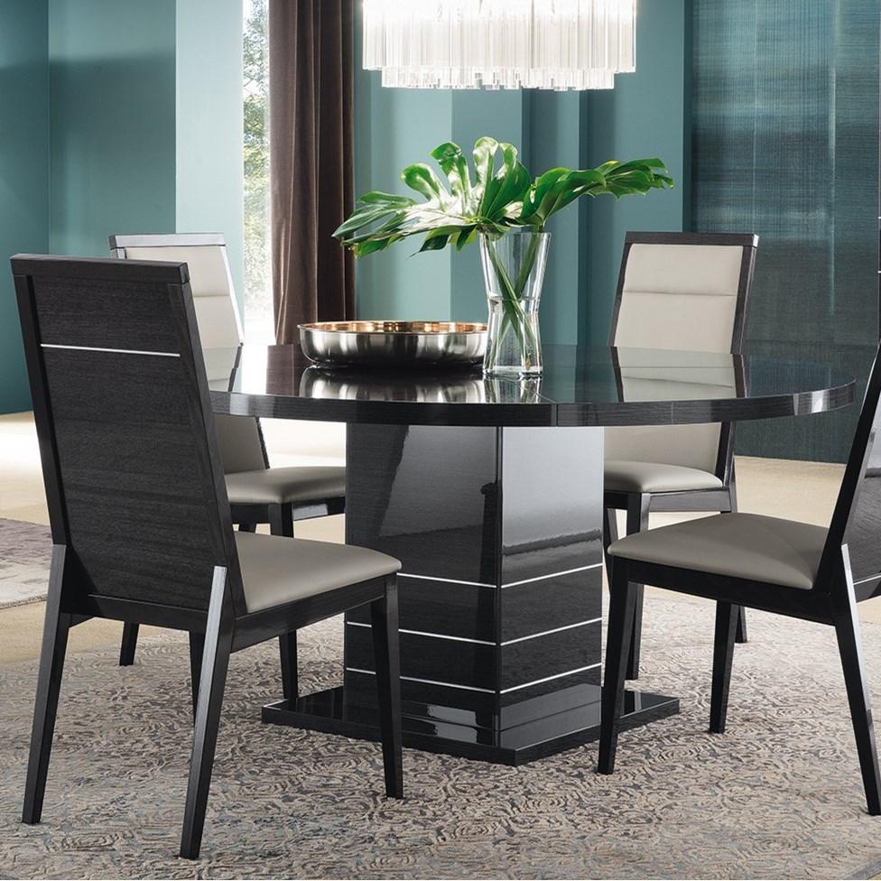 Alf Italia Versilia Contemporary Round Dining Table Stoney Creek