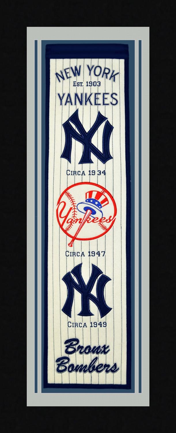 Michigan Arts & Sports MLB New York Yankees Sports Banner - Item Number: MAS-YANKEES
