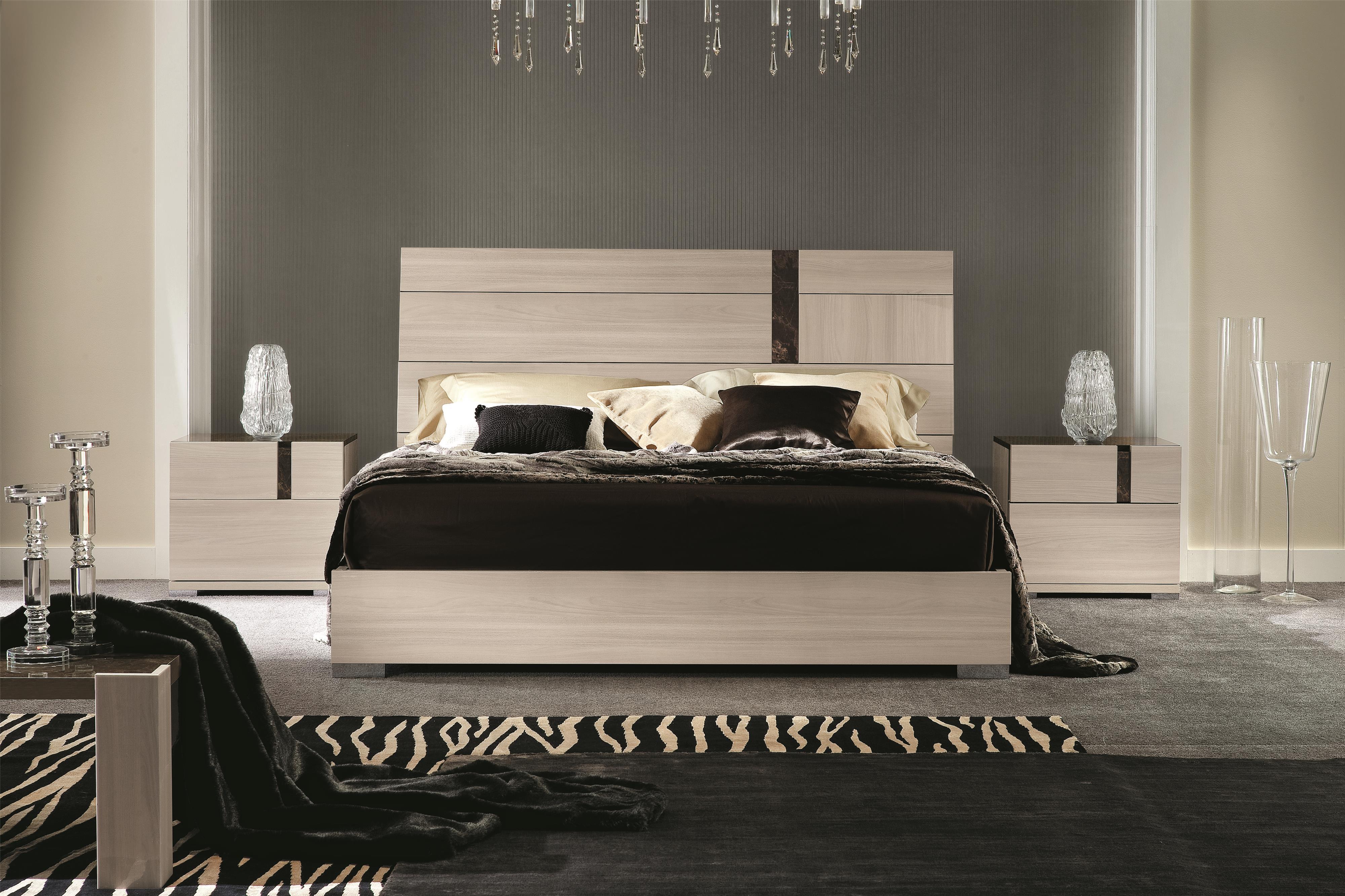 Alf Italia Teodora King Bed - Item Number: PJTEO185 Teodora