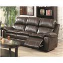 Amalfi Home Furniture Burlington Reclining Sofa - Item Number: 131332924