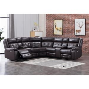 Two Recliner Sectional
