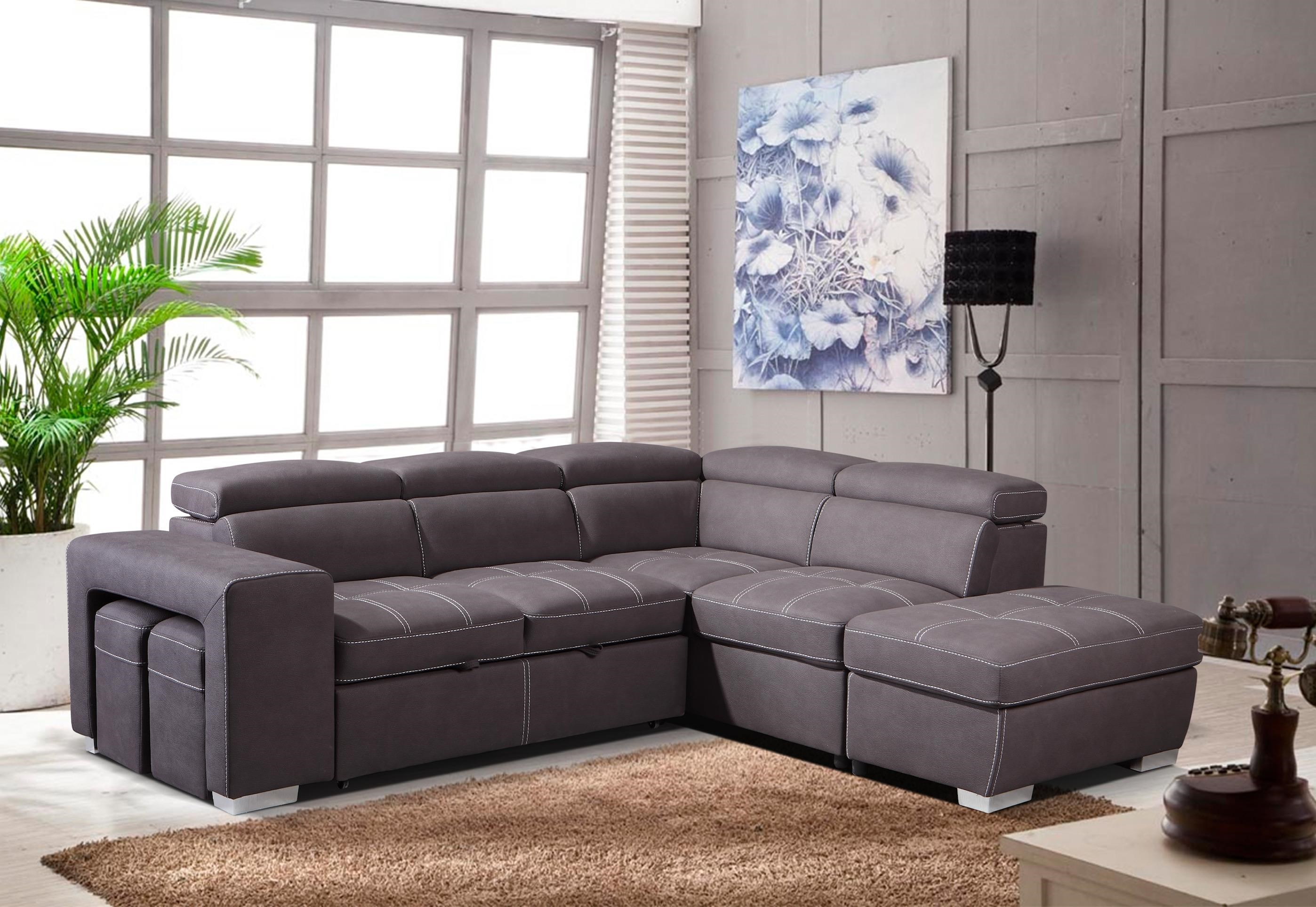 POSITANO Sectional by Amalfi Home Furniture at HomeWorld Furniture