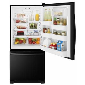 Amana Bottom Mount Refrigerators 18.5 Cu. Ft. Bottom-Freezer Refrigerator