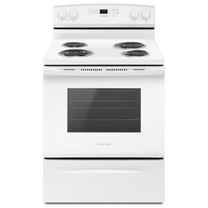 Amana Electric Ranges - Amana 30-inch Electric Range with Self-Clean Optio