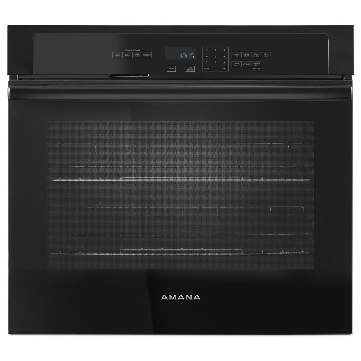 Amana Electric Wall Ovens - Amana 30-inch 5.0 Cu. Ft. Amana® Wall Oven - Item Number: AWO6313SFB