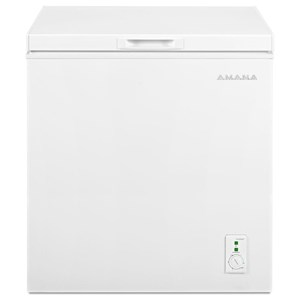 Amana Freezer Chests 5.3 Cu. Ft. Compact Freezer with 2 Rollers
