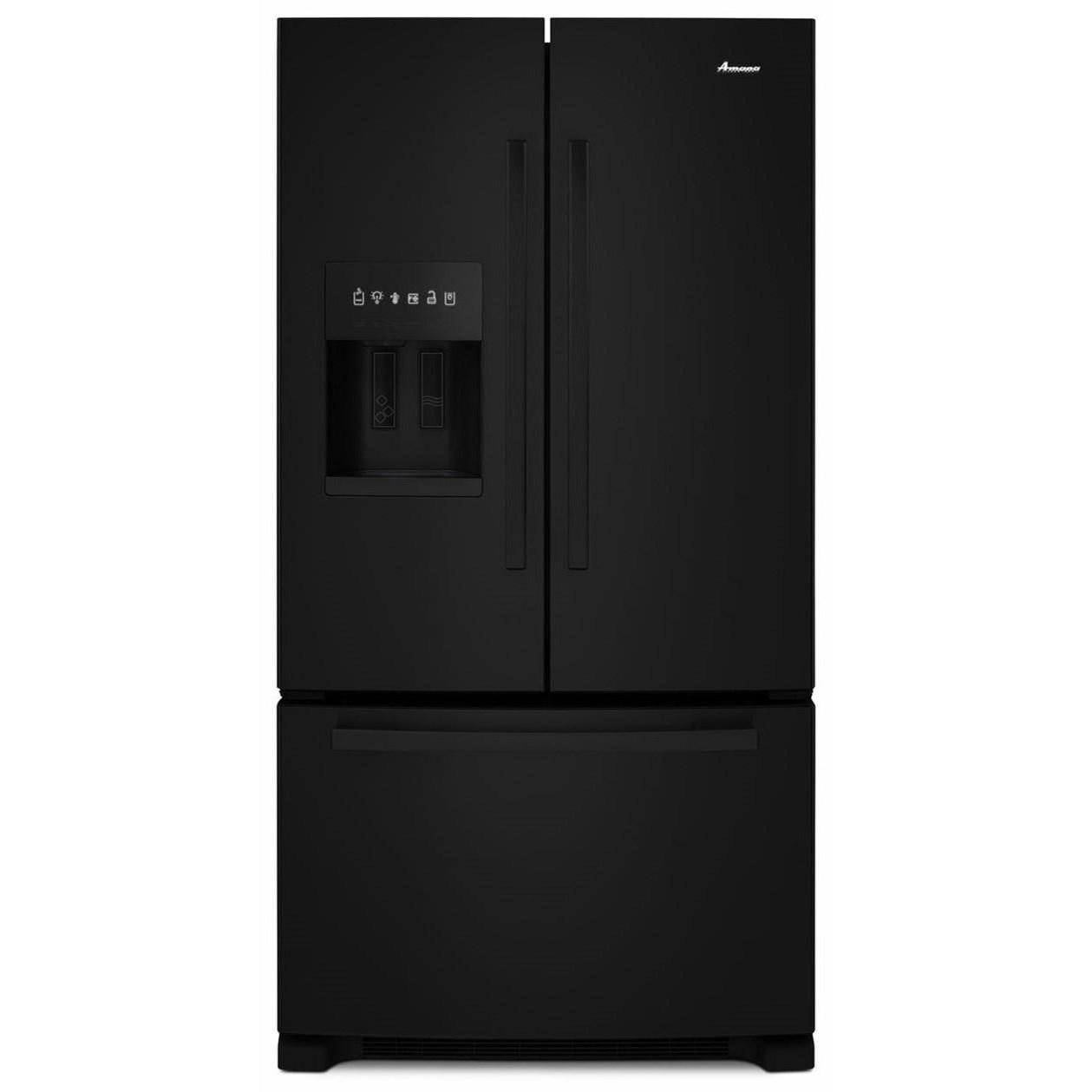 Amana French Door Refrigerators 36-inch Wide French Door Bottom- Freezer Ref - Item Number: AFI2539ERB