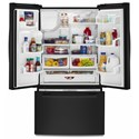 Amana French Door Refrigerators 36-inch Wide French Door Bottom- Freezer Refrigerator with Fast Cool Option - 25 cu. ft.