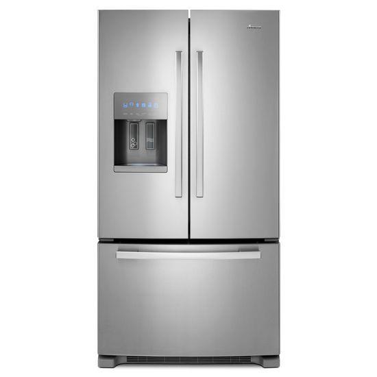 Amana French Door Refrigerators 36-inch Wide French Door Bottom- Freezer Ref - Item Number: AFI2539ERM