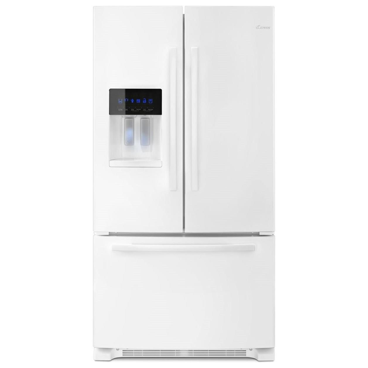 Amana French Door Refrigerators 36-inch Wide French Door Bottom- Freezer Ref - Item Number: AFI2539ERW