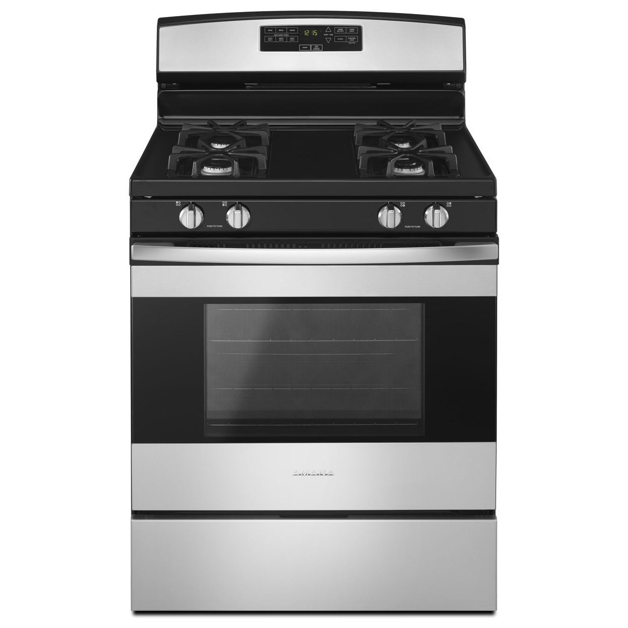 Amana 30-inch Gas Range With Bake Assist Temps