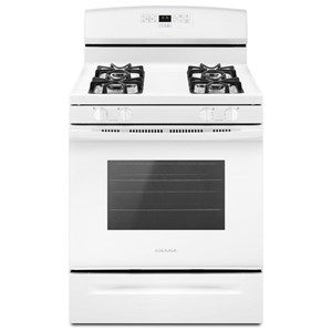 Amana Gas Ranges - Amana 30-inch Gas Range with Bake Assist Temps