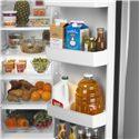 Amana Side-By-Side Refrigerators ENERGY STAR® 25.5 Cu. Ft. Side-by-Side Refrigerator with PUR® Water Filtration - Gallon Door Storage and Adjustable Door Bins