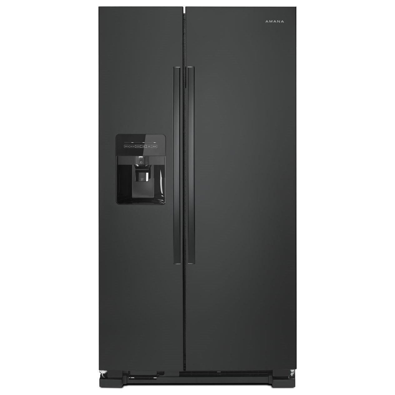 33 Inch Side By Side Refrigerator With Dual Pad External