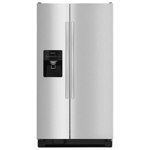 Amana Side-By-Side Refrigerators Side-by-Side Refrigerator with Dairy Center