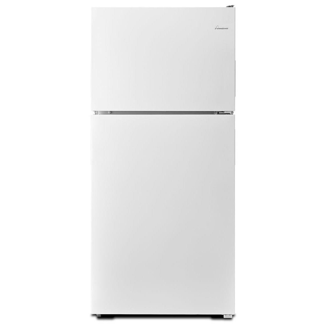 Amana Top Mount Refrigerators 30-inch Wide Top-Freezer Refrigerator with G - Item Number: ART348FFFW