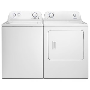 Amana Washer and Dryer Sets 3.5 Cu. Ft. Washer and 6.5 Cu. Ft. Dryer